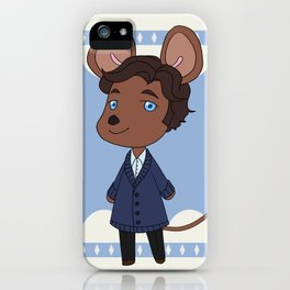 An adorable lab rat iPhone Case