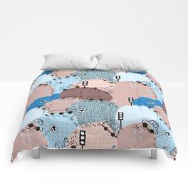 Four wheels blue #homedecor Comforters
