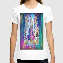 Saraswati, Lakshmi & Ganesha T-shirt
