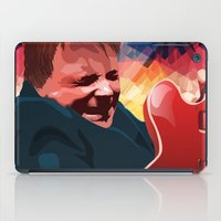 marty mcfly iPad Cases featuring Marty McFly by Stephanie Keir