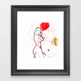 the wait 2 Framed Art Print