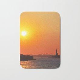154. Liberty Light, New York Bath Mat