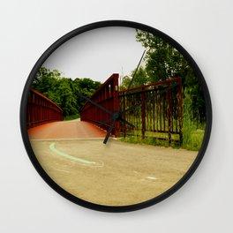 North Don Trail Bridgeway Wall Clock