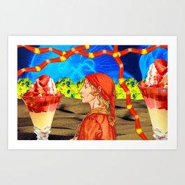 Dessert Desert Art Print