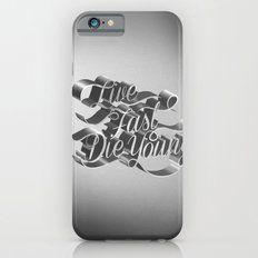 Live Fast Die Young - Black and White iPhone 6s Slim Case