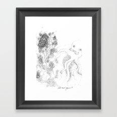 let´s twist again Framed Art Print