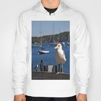 maine Hoodies featuring Maine Local by Catherine1970