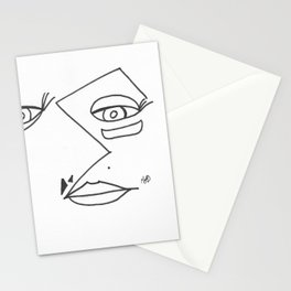 Mask Layer Stationery Cards