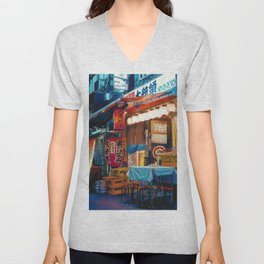 By Lantern Light Unisex V-Neck