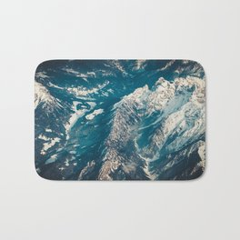 Alps from The Height Bath Mat