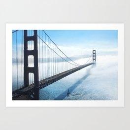 San Francisco Golden Gate Brige Art Print