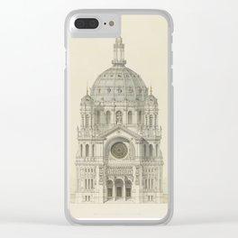 Church of St. Augustine Paris Clear iPhone Case