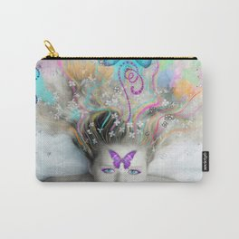Colourful Dreams by Lesley Smitheringale Carry-All Pouch