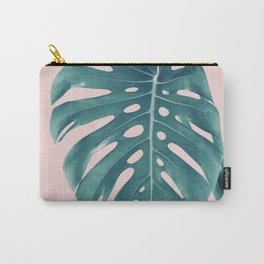 Monstera Delight #3 #tropical #decor #art #society6 Carry-All Pouch