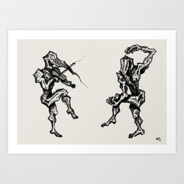 Music and Theatre Art Print