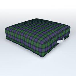Blair Tartan Plaid Outdoor Floor Cushion
