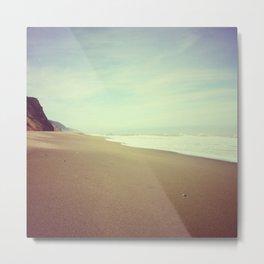Empty Beach, Humboldt County, CA Metal Print