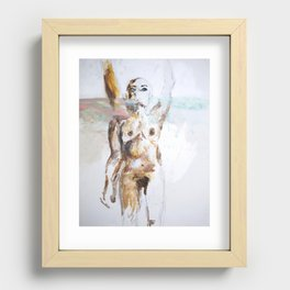 Rise Recessed Framed Print