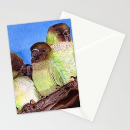 Birds of a Feather by Maureen Donovan Stationery Cards
