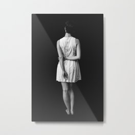 Not Lost, Wandering Metal Print