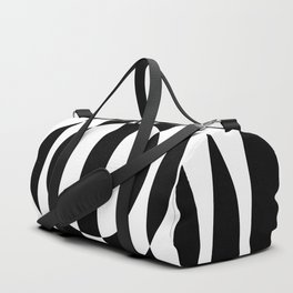 Hot Spot || Black & White Duffle Bag