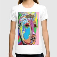 rottweiler T-shirts featuring Lady Rottweiler by EloiseArt
