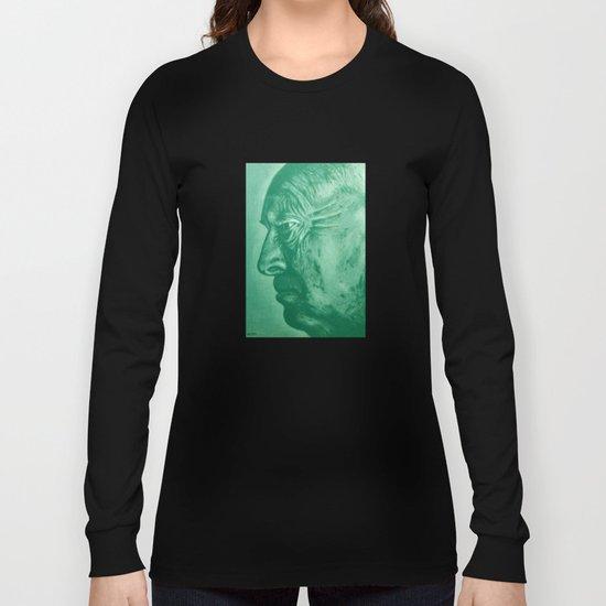 wladimir nabokov - green Long Sleeve T-shirt