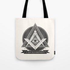 I am illuminati Tote Bag
