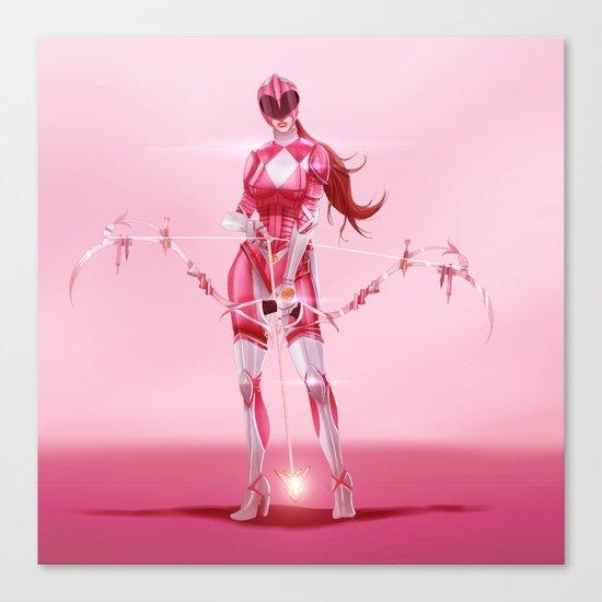 Pink Ranger Canvas Print