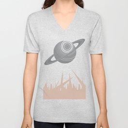 """Saturn Returns"" Unisex V-Neck"