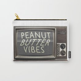Peanut Butter Vibes Carry-All Pouch