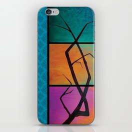 tree painting iPhone Skin