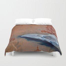 Oil Paint Study - Magpie Pattern Duvet Cover