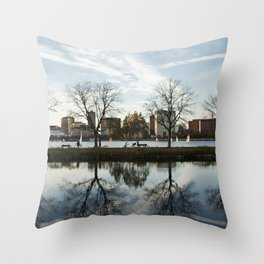 Esplanade Reflection Throw Pillow