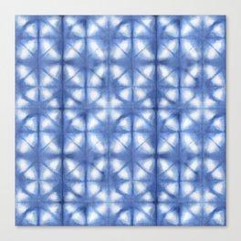 Shibori Itajime Canvas Print
