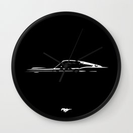 Pure Mustang Wall Clock