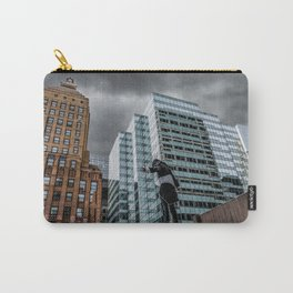 The Watcher Brings a Storm Down on Chicago Carry-All Pouch