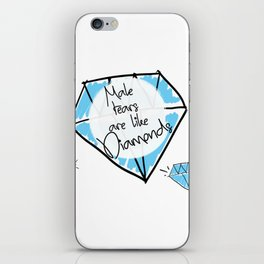 Male Tears are Like Diamonds iPhone Skin