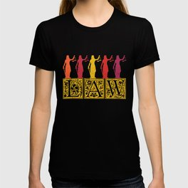 Lawyer Law Student Lady Justice Vintage T-shirt