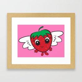 FlyBerry Kiddo Pink Framed Art Print