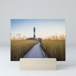 Light House - Robert Moses - Long Island Mini Art Print