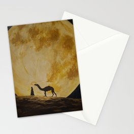 Travelling in Moonlight Stationery Cards