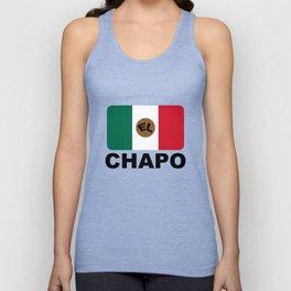 El Chapo Mexican flag Unisex Tank Top