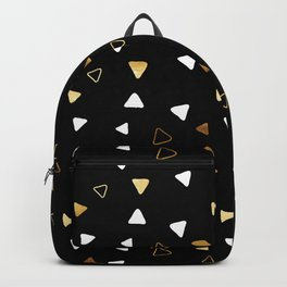 Multi Triangles - Black Backpack