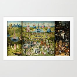 The Garden of Earthly Delights Art Print