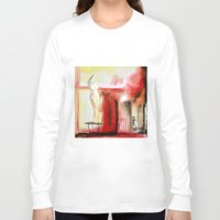 garden Long Sleeve T-shirts featuring Garden by Helen Syron