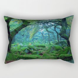 Enchanted forest mood Rectangular Pillow