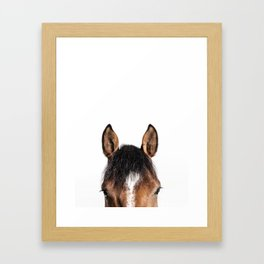 Wanna ride now? Framed Art Print