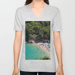 Costa Brava Beach Unisex V-Neck