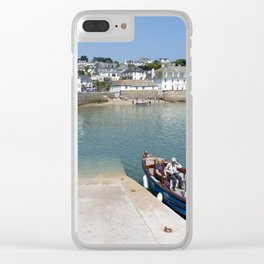 St Mawes Slipway Clear iPhone Case